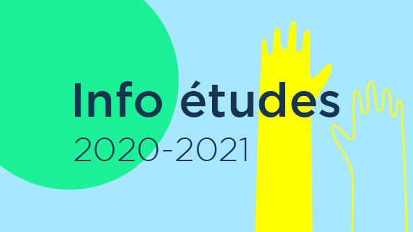 Info études 2020-2021